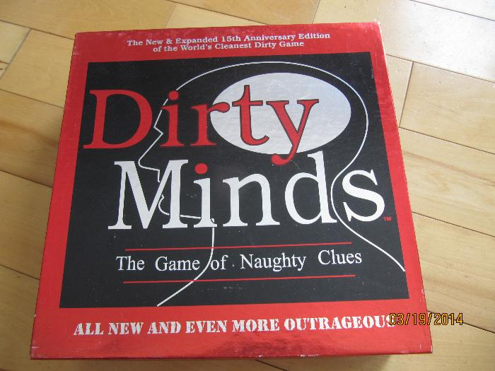 Dirty Minds The Ultimate Board Game For Adults Rules