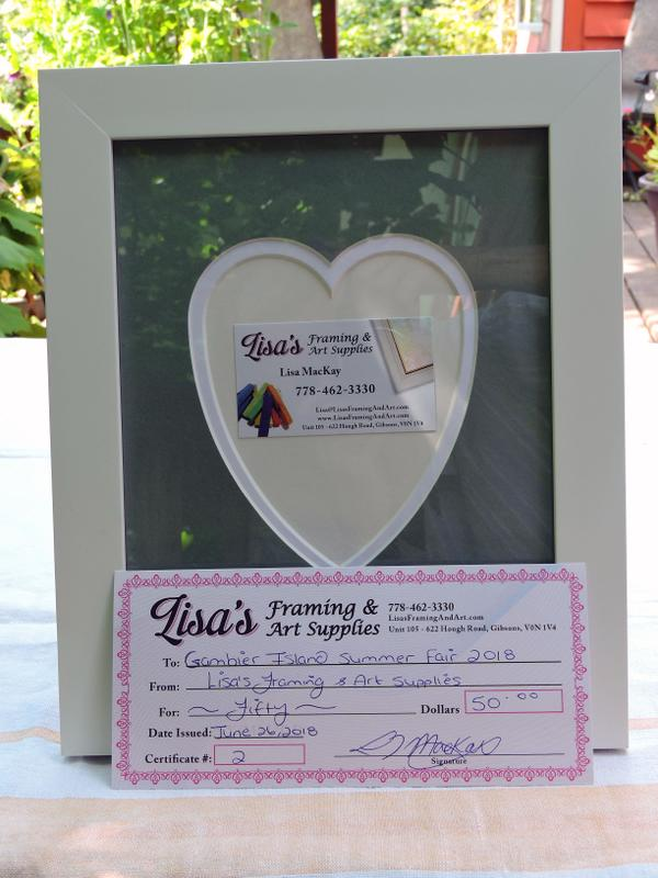 lisa s framing art supplies frame and certificate up for bids at