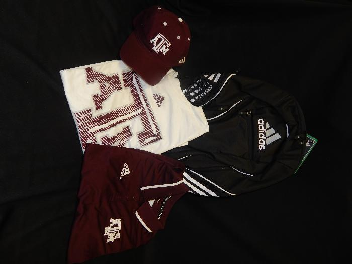 8d445bd06f Aggie Adidas gift bag up for bids at