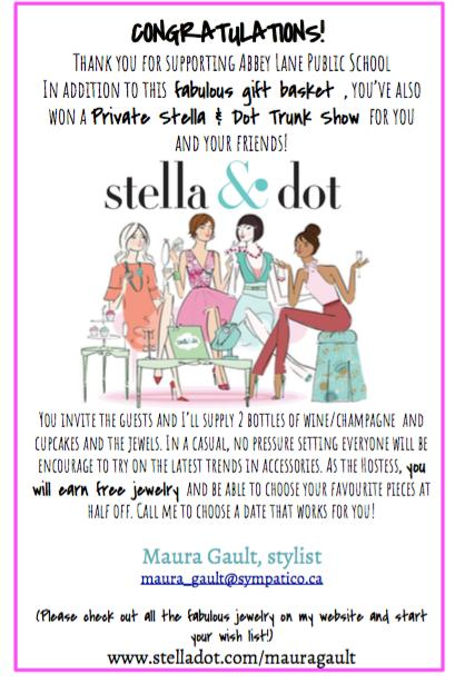 Stella & Dot Basket!!! up for bids at