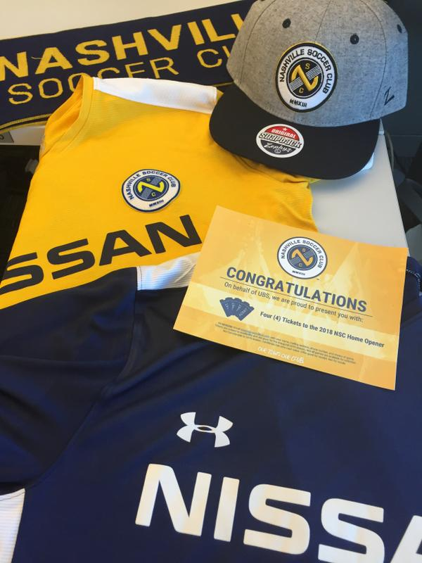 new style 9e4d6 a3fc7 Nashville SC Game Package up for bids at