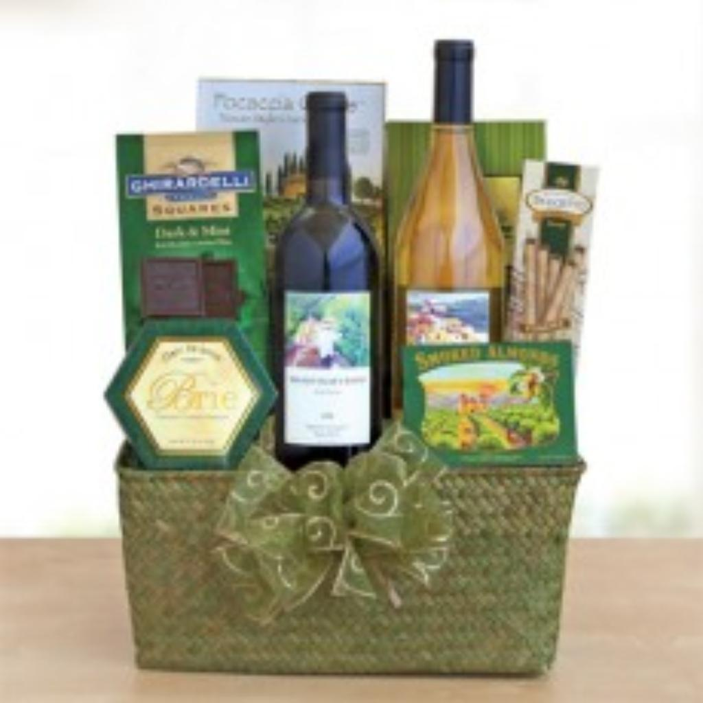 Napa Valley Gift Basket donated by Ali Summerville up for bids at ...