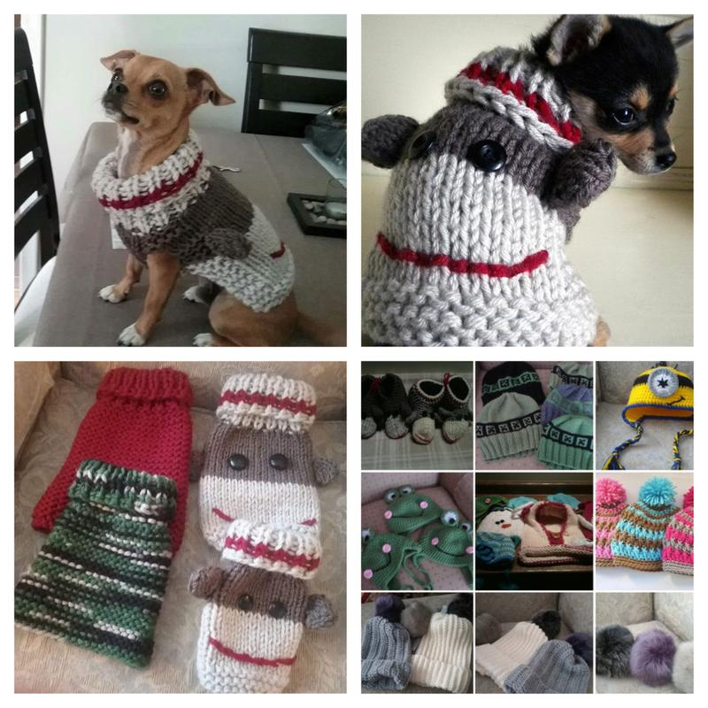 Sock Monkey Dog Sweater Up For Bids At Help Ottawa Fur Kids Online