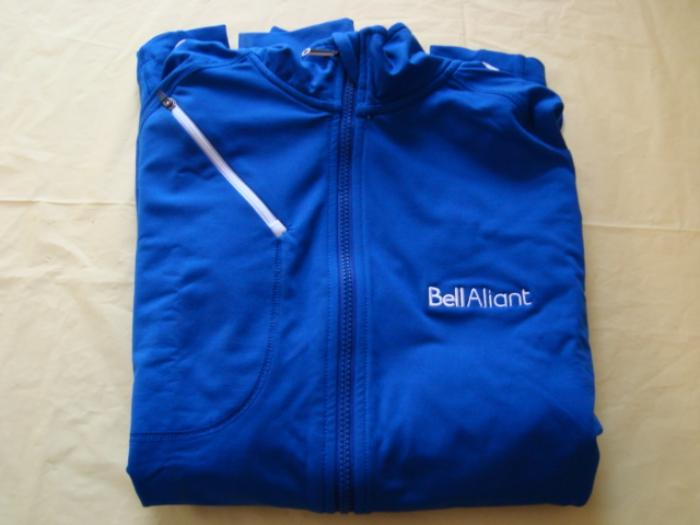 Bell Aliant Sun Ice jacket (Men size large) up for bids at