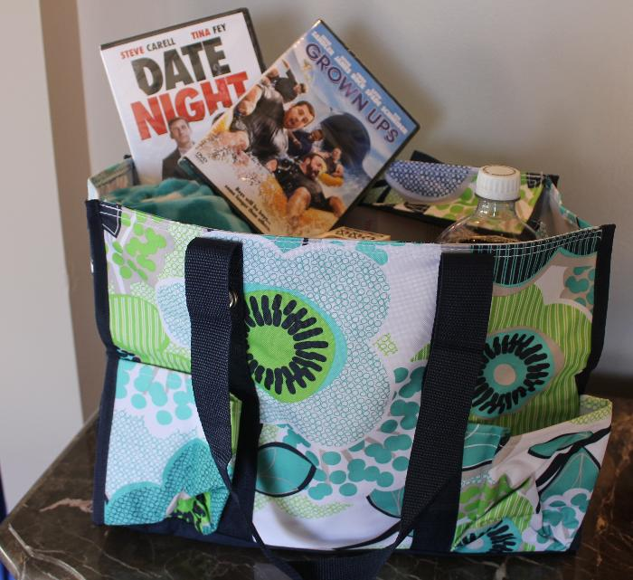 Family Movie Night Gift Bag Up For Bids At My Happy Place