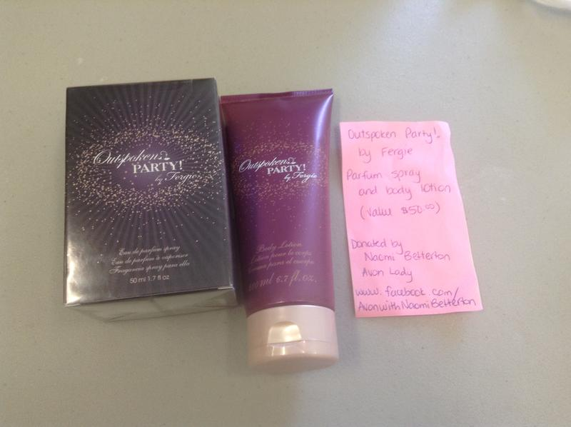 Avon Outspoken Party By Fergie Parfum And Body Lotion Up For Bids